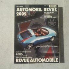 Coches y Motocicletas: AUTOMOBIL REVUE 2002. Lote 170390264