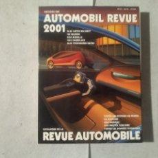 Coches y Motocicletas: AUTOMOBIL REVUE 2001. Lote 170390588