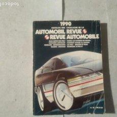 Coches y Motocicletas: AUTOMOBIL REVUE 1990. Lote 170390636