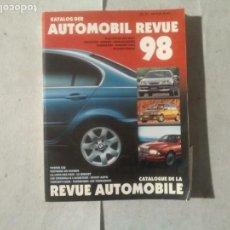 Coches y Motocicletas: AUTOMOBIL REVUE 1998. Lote 170390692