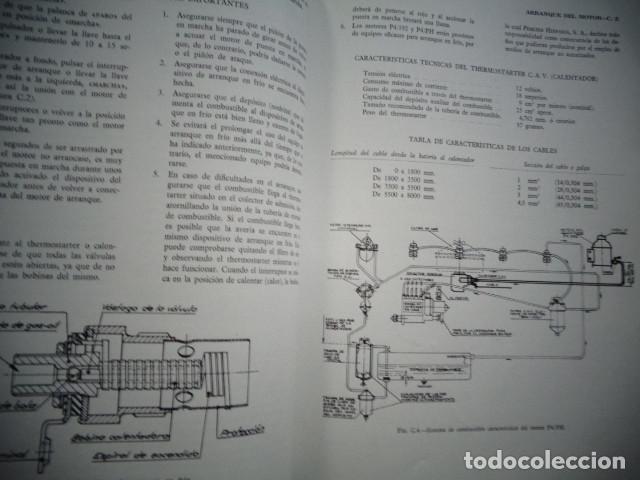 Coches y Motocicletas: MANUAL TALLER ORIGINAL MOTOR PERKINS HISPANIA DIESEL TIPO P4/PH Y P4/192 JUNIO 1962 - Foto 5 - 171093814