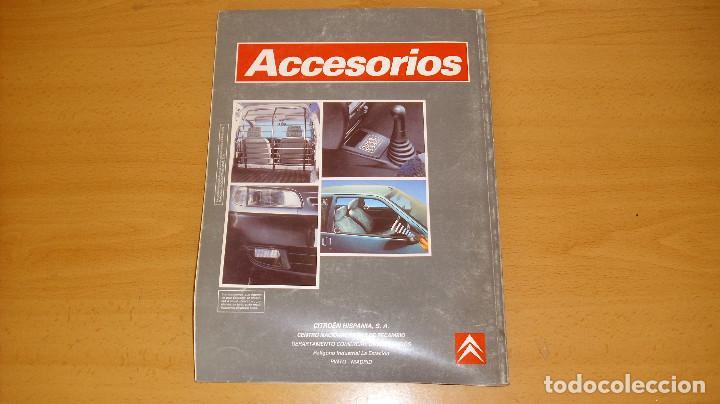 Coches y Motocicletas: MANUAL ACCESORIOS CITROEN CATÁLOGO GENERAL AÑO 1996 REPARACIÓN AUTOMÓVIL COCHE - Foto 5 - 171094918