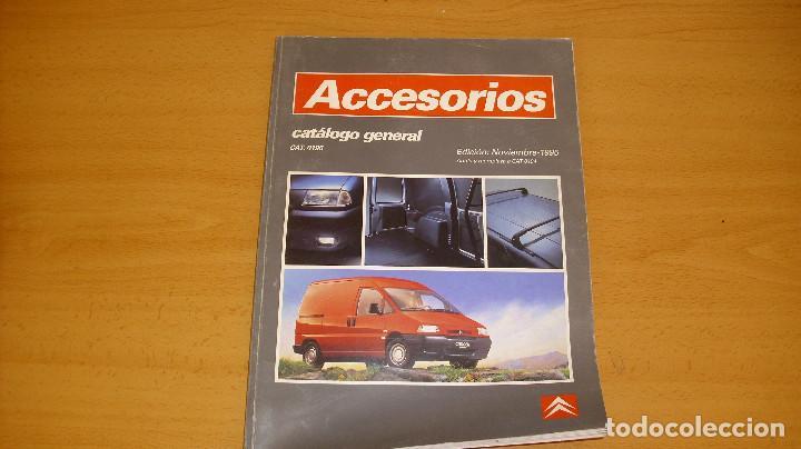 MANUAL ACCESORIOS CITROEN CATÁLOGO GENERAL AÑO 1995 REPARACIÓN AUTOMÓVIL COCHE (Coches y Motocicletas Antiguas y Clásicas - Catálogos, Publicidad y Libros de mecánica)