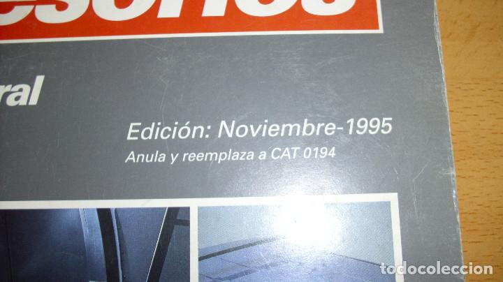 Coches y Motocicletas: MANUAL ACCESORIOS CITROEN CATÁLOGO GENERAL AÑO 1995 REPARACIÓN AUTOMÓVIL COCHE - Foto 2 - 171095380