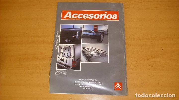Coches y Motocicletas: MANUAL ACCESORIOS CITROEN CATÁLOGO GENERAL AÑO 1995 REPARACIÓN AUTOMÓVIL COCHE - Foto 5 - 171095380