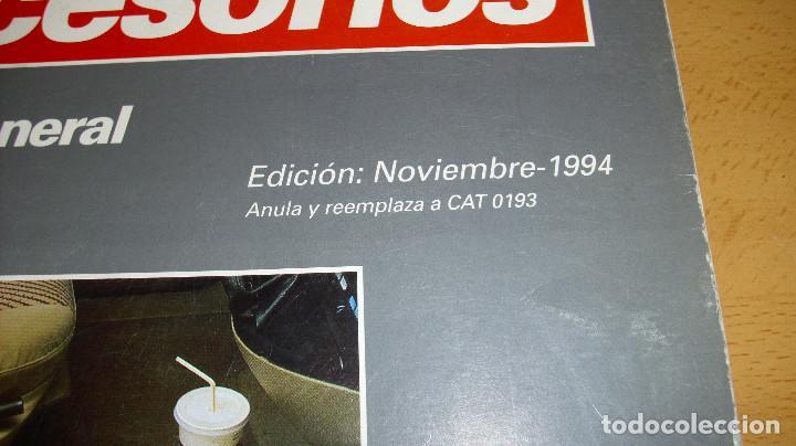 Coches y Motocicletas: MANUAL ACCESORIOS CITROEN CATÁLOGO GENERAL AÑO 1994 REPARACIÓN AUTOMÓVIL COCHE - Foto 2 - 171095615