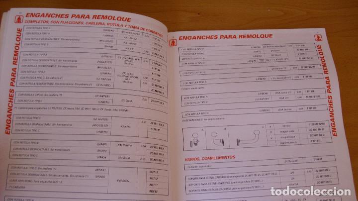Coches y Motocicletas: MANUAL ACCESORIOS CITROEN CATÁLOGO GENERAL AÑO 1994 REPARACIÓN AUTOMÓVIL COCHE - Foto 3 - 171095615