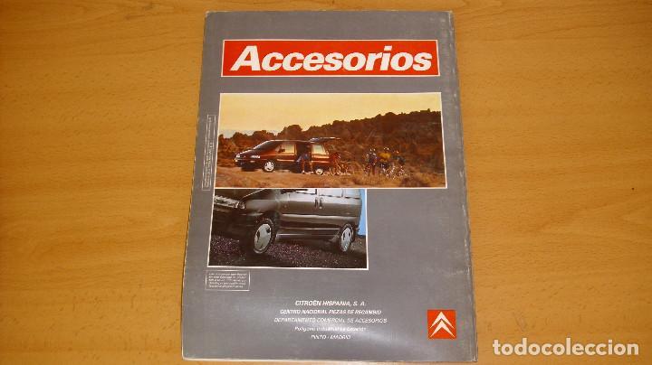 Coches y Motocicletas: MANUAL ACCESORIOS CITROEN CATÁLOGO GENERAL AÑO 1994 REPARACIÓN AUTOMÓVIL COCHE - Foto 5 - 171095615