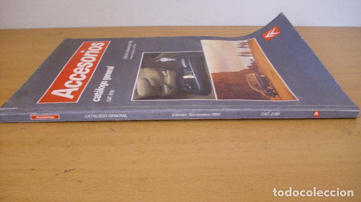Coches y Motocicletas: MANUAL ACCESORIOS CITROEN CATÁLOGO GENERAL AÑO 1994 REPARACIÓN AUTOMÓVIL COCHE - Foto 6 - 171095615