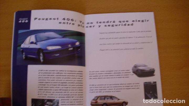 Coches y Motocicletas: CATÁLOGO PEUGEOT 1998 AUTOMÓVIL COCHE - Foto 3 - 171098458