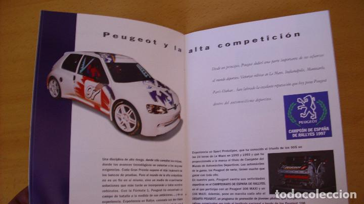 Coches y Motocicletas: CATÁLOGO PEUGEOT 1998 AUTOMÓVIL COCHE - Foto 4 - 171098458