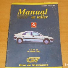Coches y Motocicletas: MANUAL TALLER GUIA TASACIONES CITROEN C15 AX BX ZX XANTIA SAXO 1998. Lote 171099067
