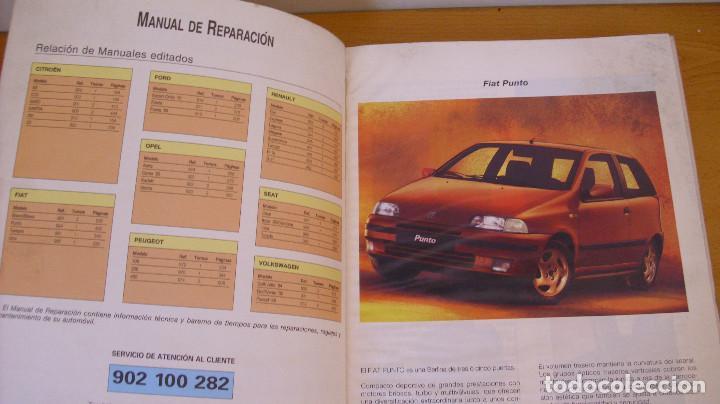 Coches y Motocicletas: MANUAL TALLER GUÍA TASACIONES FIAT PUNTO 1999 REPARACIÓN AUTOMÓVIL COCHE - Foto 3 - 171102590