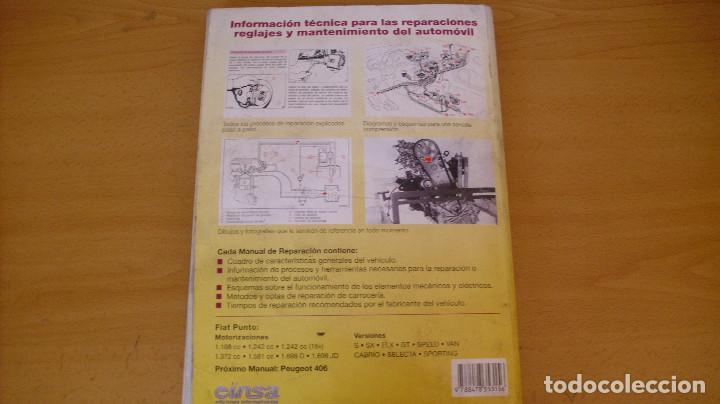Coches y Motocicletas: MANUAL TALLER GUÍA TASACIONES FIAT PUNTO 1999 REPARACIÓN AUTOMÓVIL COCHE - Foto 6 - 171102590