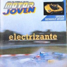 Coches y Motocicletas: MOTOR JOVEN 87. 1995. RENAULT CLIO. AUTOMOVILISMO. MICHAEL SCHUMACHER. Lote 171264563
