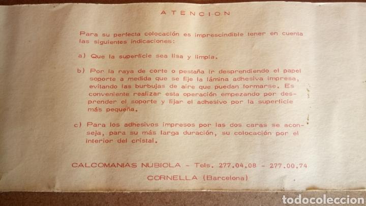 Coches y Motocicletas: ANTIGUA Y GRAN PEGATINA DE MOTOS MONTESA. - Foto 2 - 171644810