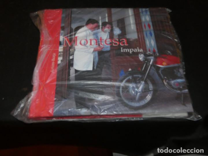 LIBRO SOBRE LA MONTESA IMPALA DE ARTURO BORJA PESA 660 GRAMOS MUY BUEN ESTADO (Coches y Motocicletas Antiguas y Clásicas - Catálogos, Publicidad y Libros de mecánica)