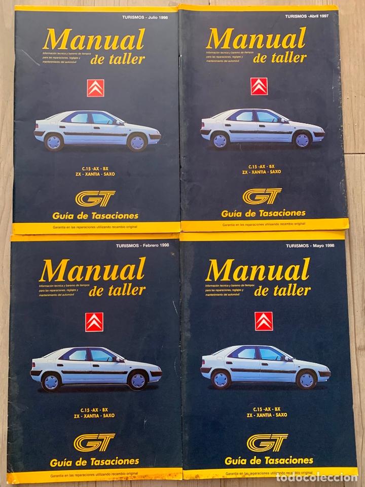 Lote Manual De Taller Citroen C 15 Ax Bx Zx Xan