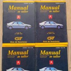 Coches y Motocicletas: LOTE MANUAL DE TALLER CITROEN C 15 AX BX ZX XANTIA SAXO 1998. Lote 171749192