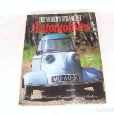 Coches y Motocicletas: WORLDS STRANGEST AUTOMOBILES ( AUTOMÓVILES MÁS EXTRAÑOS DEL MUNDO ) AÑO 1996. Lote 171811502