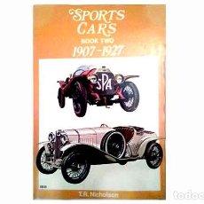 Coches y Motocicletas: LIBRO EN INGLÉS:SPORTS CARS. BOOK TWO (1907-1927). OCASIÓN (USADO). Lote 172219593