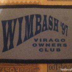 Coches y Motocicletas: PARCHE YAMAHA VIRAGO WIMBASH 97 CONCETRACION OWERS CLUB SIN US. Lote 172332205
