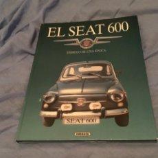 Coches y Motocicletas: ANTIGUO LIBRO SEAT 600 COCHE . Lote 172372917