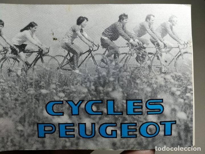 Coches y Motocicletas: MANUAL CATALOGO CYCLES PEUGEOT-BICICLETAS -1981 -REF-DC - Foto 7 - 172611460