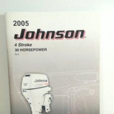 Coches y Motocicletas: JOHNSON 30HP 4 STROKE AÑO 2005. Lote 172698320
