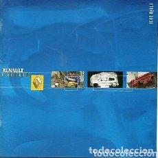 Coches y Motocicletas: CATALOGO RENAULT MINIATURAS. Lote 172765827