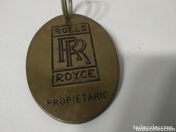 LLAVERO ROLLS ROYCE PROPIETARIO (Coches y Motocicletas Antiguas y Clásicas - Catálogos, Publicidad y Libros de mecánica)