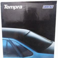Coches y Motocicletas: FIAT TEMPRA CATALOGO PUBLICITARIO 1990 COCHE RARO. Lote 173482903