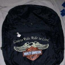 Coches y Motocicletas: HARLEY DAVIDSON. MOCHILA. ORIGINAL. Lote 173620315