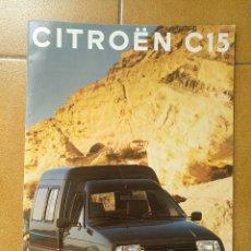 Coches y Motocicletas: CITROEN C 15 - CATALOGO PUBLICIDAD ORIGINAL - 1992 - ESPAÑOL. Lote 173031562