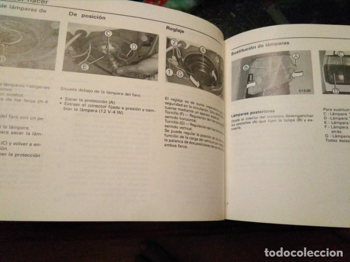 Coches y Motocicletas: Manual instrucciones Seat Málaga - Foto 4 - 173677548