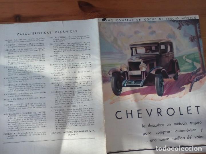 CHEVROLET (Coches y Motocicletas Antiguas y Clásicas - Catálogos, Publicidad y Libros de mecánica)