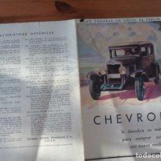 Coches y Motocicletas: CHEVROLET. Lote 173932213