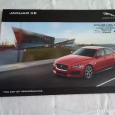 Coches y Motocicletas: 15-CATALOGO JAGUAR XE, THE ART OF PERFORMANCE, . Lote 173963635