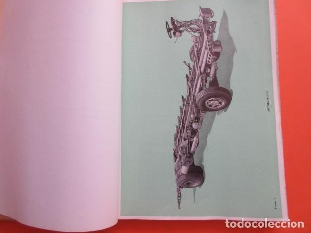 Coches y Motocicletas: LIBRO AUTOBUSES PEGASO 5020 EDICION DE 1961 DATOS TECNICOS CARACTERISTICAS PLANOS UNA JOYA - Foto 5 - 173965844
