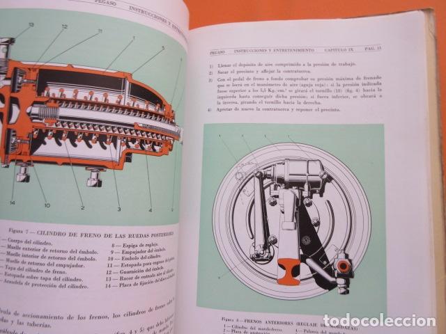 Coches y Motocicletas: LIBRO AUTOBUSES PEGASO 5020 EDICION DE 1961 DATOS TECNICOS CARACTERISTICAS PLANOS UNA JOYA - Foto 7 - 173965844
