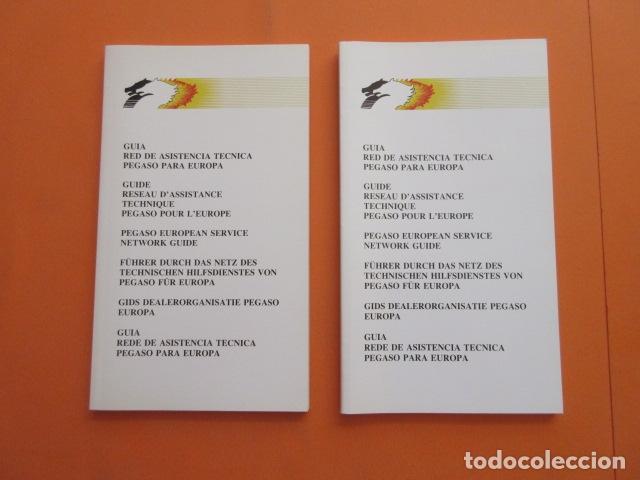 Coches y Motocicletas: 2 LIBRO GUIA RED DE ASISTENCIA TECNICA PEGASO - DIFERENTES ENASA - Foto 2 - 173966185