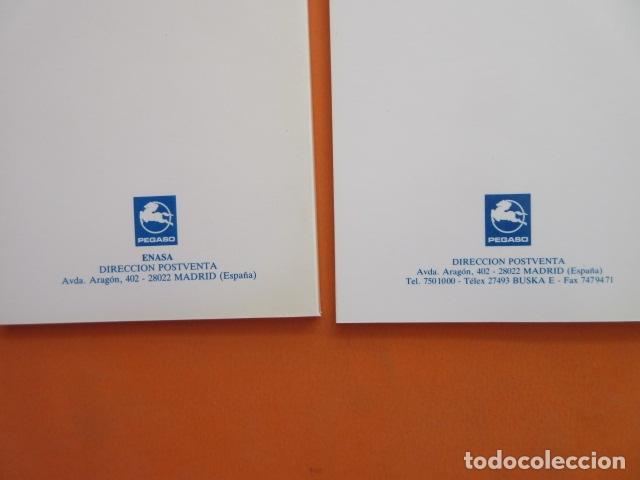 2 LIBRO GUIA RED DE ASISTENCIA TECNICA PEGASO - DIFERENTES ENASA (Coches y Motocicletas Antiguas y Clásicas - Catálogos, Publicidad y Libros de mecánica)