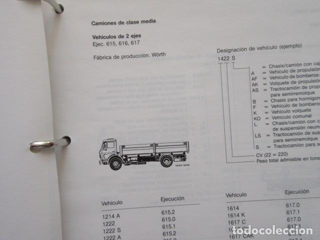 Coches y Motocicletas: MANUAL DE MANTENIMIENTO MERCEDES BENZ INCLUYE MICROFICHAS DIFERENTES MOTORES - Foto 4 - 173968518