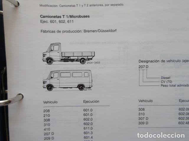 Coches y Motocicletas: MANUAL DE MANTENIMIENTO MERCEDES BENZ INCLUYE MICROFICHAS DIFERENTES MOTORES - Foto 9 - 173968518