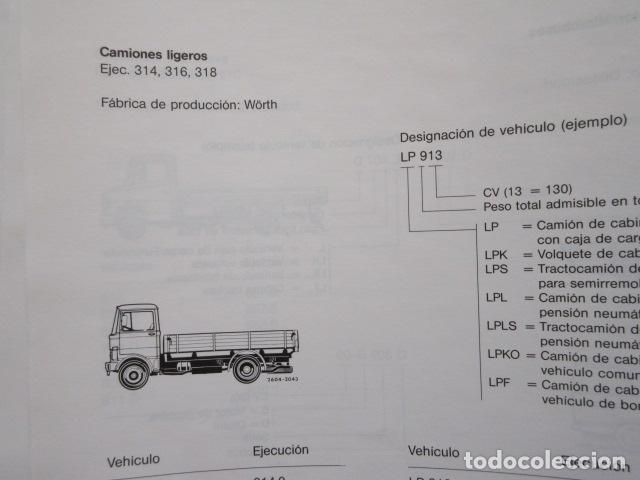 Coches y Motocicletas: MANUAL DE MANTENIMIENTO MERCEDES BENZ INCLUYE MICROFICHAS DIFERENTES MOTORES - Foto 10 - 173968518