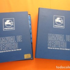 Coches y Motocicletas: IMPRESIONANTE MANUAL SERVICIO EN 2 TOMOS PEGASO 6038. Lote 173968675