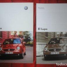 Coches y Motocicletas: CATÁLOGO VW / VOLKSWAGEN LUPO . 2003. Lote 174099758