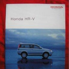 Coches y Motocicletas: CATÁLOGO HONDA HRV / HR-V I . 2002. Lote 174104038
