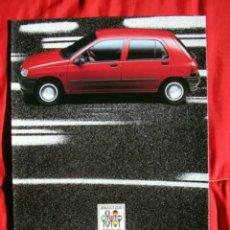 Coches y Motocicletas: CATÁLOGO RENAULT CLIO I . 1991. Lote 174158909