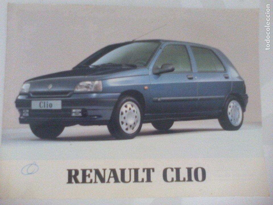 RENAULT CLIO 1994 (Coches y Motocicletas Antiguas y Clásicas - Catálogos, Publicidad y Libros de mecánica)